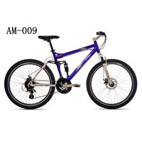 AM-009- 26-Inch Wheels and 19-Inch Frame Men's Dual-Suspension Mountain Bike