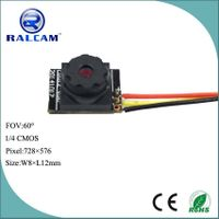 800TVL 1/4 inch cmos sensor 50cm~infinity DOF 8mm camera module for surveillance monitoring