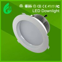 CE RHoS SAA  30W  50W  210mm  dimmable  led downlight 230v