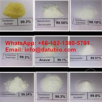 99% Purity Anabolic Steroid Powder Drostanolone Enanthate Raw Steroids Powder For Sale Manufacturer thumbnail image