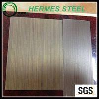wood grain finish stainless steel sheet