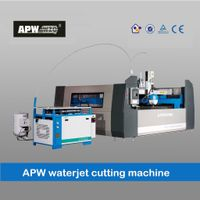 APW Dust free enclosed waterjet cutting machine