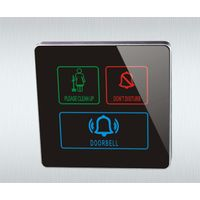 Hotel Smart Electric Touch Screen Doorbell Switch System thumbnail image