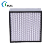 99.99% High Efficiency And Capacity Aluminum pleated Hepa for HVAC industry filter thumbnail image