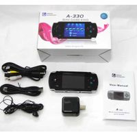 Color LCD Portable Handheld Game Console with 999 Built-in Games and TV-Out (Black) thumbnail image