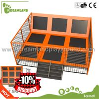Amusement park funny games galvanized trampoline springs,indoor trampoline park