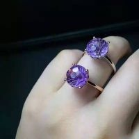 Neffly Natural amethyst female ring