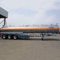 CIMC Tri Axle Aluminum Fuel Tanker Trailer thumbnail image