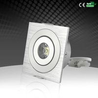 2018 Ultra Thin Recessed 3W Square LED Downlight