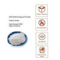GRG material Gypsum Power / Plaster powder For Interior Decorative Plaster Mouldings