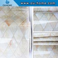 Modern 3d design marble wallpaper sticker thumbnail image