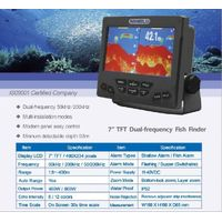 7 inch TFT Dual-Frequency Fish Finder(Sino-Norway SKIPPER) thumbnail image