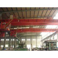 electromotive double girder hook bridge crane