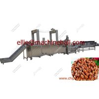 Automatic Peanut Frying Machine|Fried Peanut Frying Line