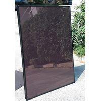 110W single glass with aluminum frame amorphous silicon thin film solar panel thumbnail image