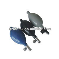 Non-invasion blood pressure bulbes with stainless valve,NIBP Valve with Pump,CE/ISO13485 approved