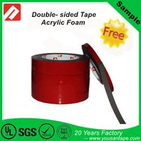 Gray Clear white Double-sided Acrylic foam Tape replace /Similar to 3M VHB Tape 1mm 0.8mm 3M 4910 3M