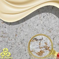 JW-6864 Sailing-Non Radiation Engineered Quartz Stone Slab
