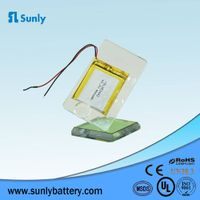 Good Quality OEM li-polymer battery pack 3.7v 400mAh lipo battery