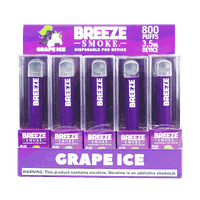 Factory Wholesale Breeze Plus Disposable Vape Device 800 Puffs with High Quality Authentic Flavors
