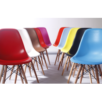 plastic dining room chair wholesale cheaper colorful modern Plastic dining Chair for sale