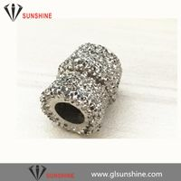 vacuum brazed type diamond beads for marble cutting