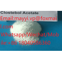 CAS 855-19-6 Clostebol Acetate Anabolic Steroids 99% Purity Oral Turinabol Factory Price861804058630