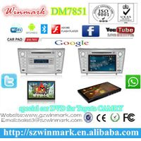 manufacture car tablet with patent for Toyota CAMRY 2007-2011,capacitive multi-touch screen and andr thumbnail image