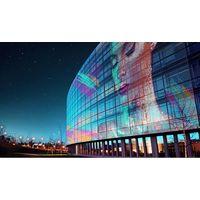 LED Media Facade, LED Mesh, LED Curtain, LED grid, LED screen, transparent LED display thumbnail image