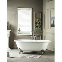 Double Ended Cast Iron Bathtub on Imperial Feet