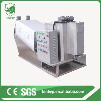 multi plate screw press dehydrator