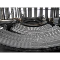 Corrugation 400mm_x 150mm Nestable Semicircular Corrugated Metal Pipe thumbnail image