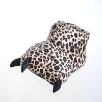 animal indoor slipper pv fur