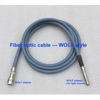 surgical silicone medical endoscope fiber optic cable