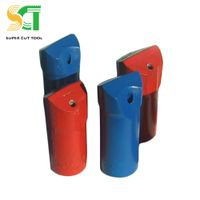 Stone quarrying tools button bit DTH drill bit shank adapters and rod for sale