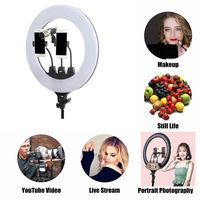 22 inch 55.5cm Fill Makeup Mirror Photography Selfie Ring Light LED Ring light thumbnail image