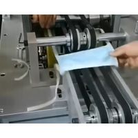 Automatic plane strap mask machine