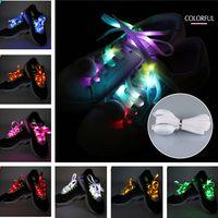 New arrived Fashion LED Shoelace 9 Colors Outdoor Sports Dance Led Shoes Beautiful Shoelace thumbnail image