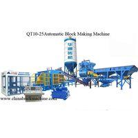 hollow Block Making Machine QT10-25Automatic