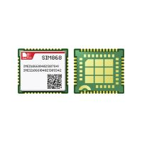 SIM868 complete Quad-Band GSM/GPRS module,combines GNSS technology for satellite navigation thumbnail image