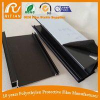 pe black&white protective film