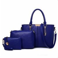 3 PCS Leather Designer Handbag Ladies Bags Women Handbags