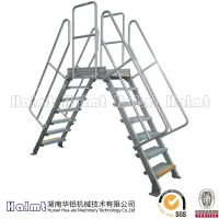 China Factory Aluminum Work Platform Bridging Steps Ladder