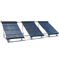 Heat Pipe Absorber Solar Evacuated Tube Collector For Water System
