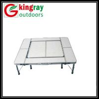 Folding  barbecue table