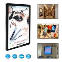 32 inch Wall-mount HD Digital Advertising display with iphone body design