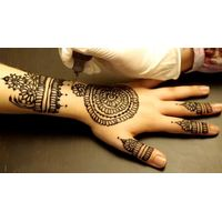 Popular Mehandi Tattoo tradition in India