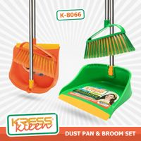 KRESS Kleen Foldable Dust Pan&Brush Set