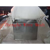Medical equipment cleaning basket, parts clean basket, stainless steel cleaning baskets thumbnail image