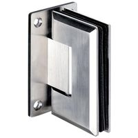 door accessories design stainless steel wall to glass door hinges for wholesale